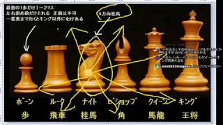 チェスを覚えよう 駒の種類と動き 将棋と比べながら初心者が基本説明