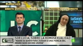 Sor Lucia opina sobre la Homosexualidad