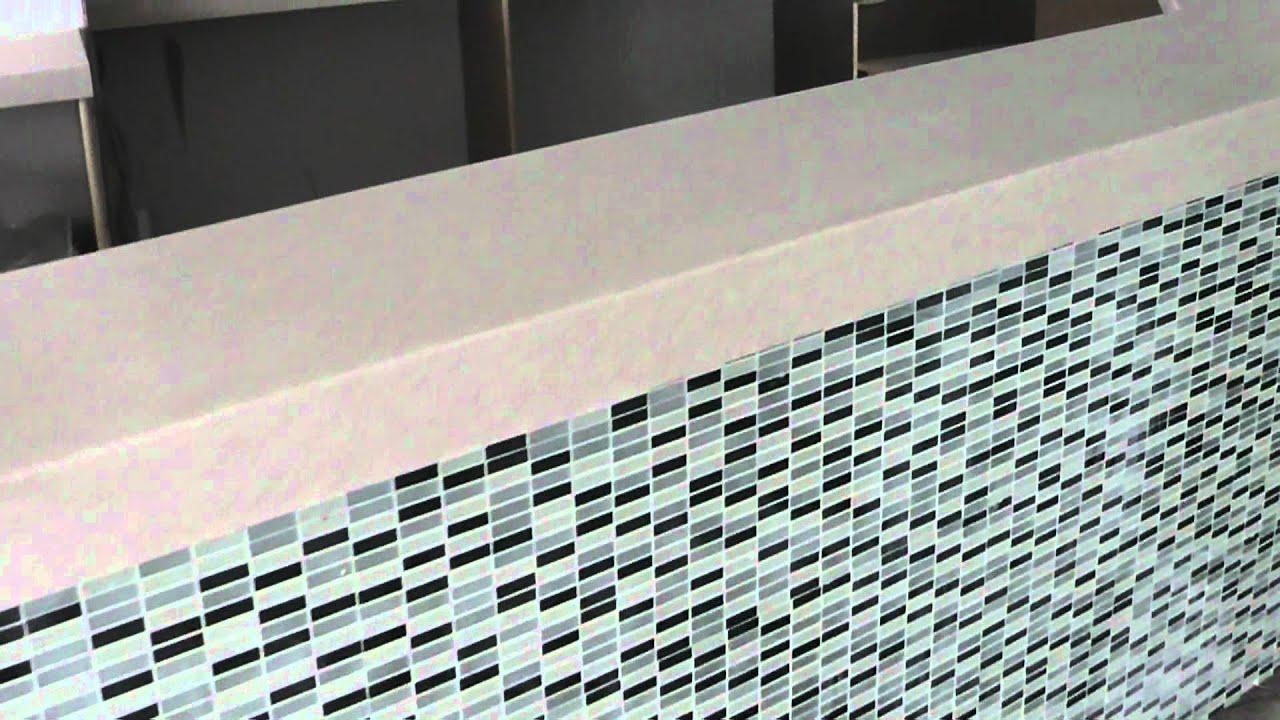Corian Bar Worktop in \'Aroura\' by Prestige Work Surfaces, Corian for ...