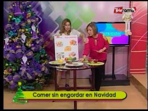 Comer sin engordar en Navidad