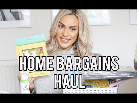 HOME BARGAINS HAUL FEBRUARY 2018