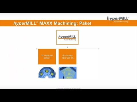 HPC-Webinar – Bohren und Schruppen |CAM-Software|