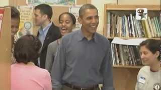 ☺☺ Barack Obamas Bücherei