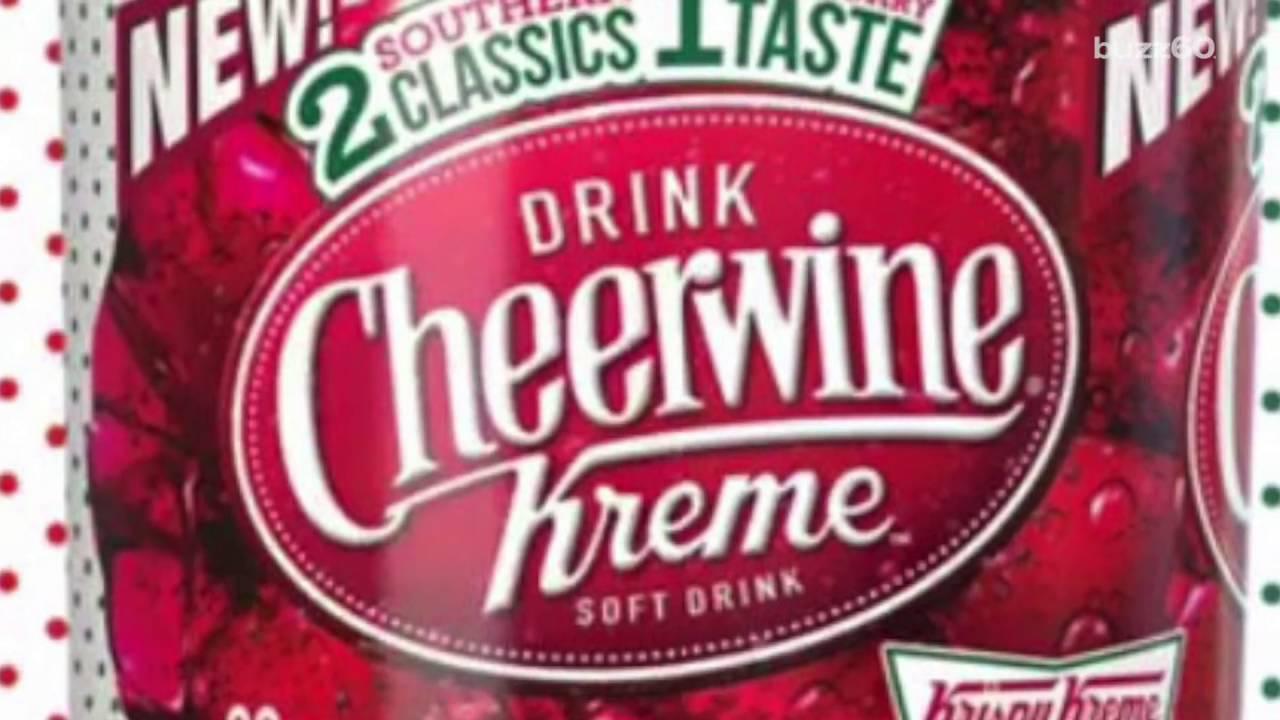8cf26100d373 Krispy Kreme Making Donut Soda with Cheerwine - YouTube