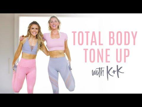 Love Your Body ~ Total Body Tone Up With Karena & Katrina!