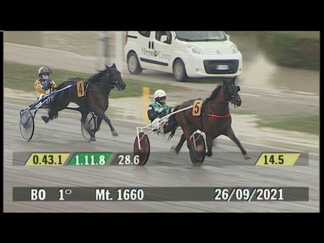 2021 09 26   Corsa 1   Metri 1660   Premio Blim - XXII Memorial Vincenzo Gasparetto