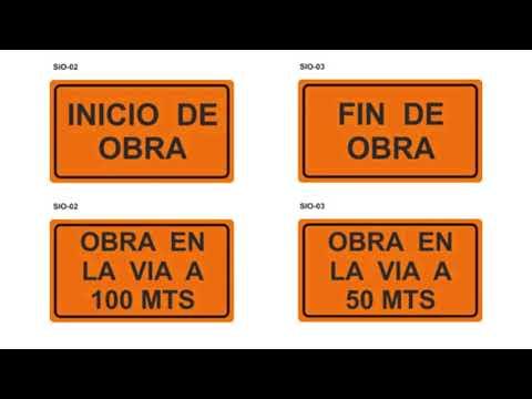 Señales de Tránsito - Señales Transitorias