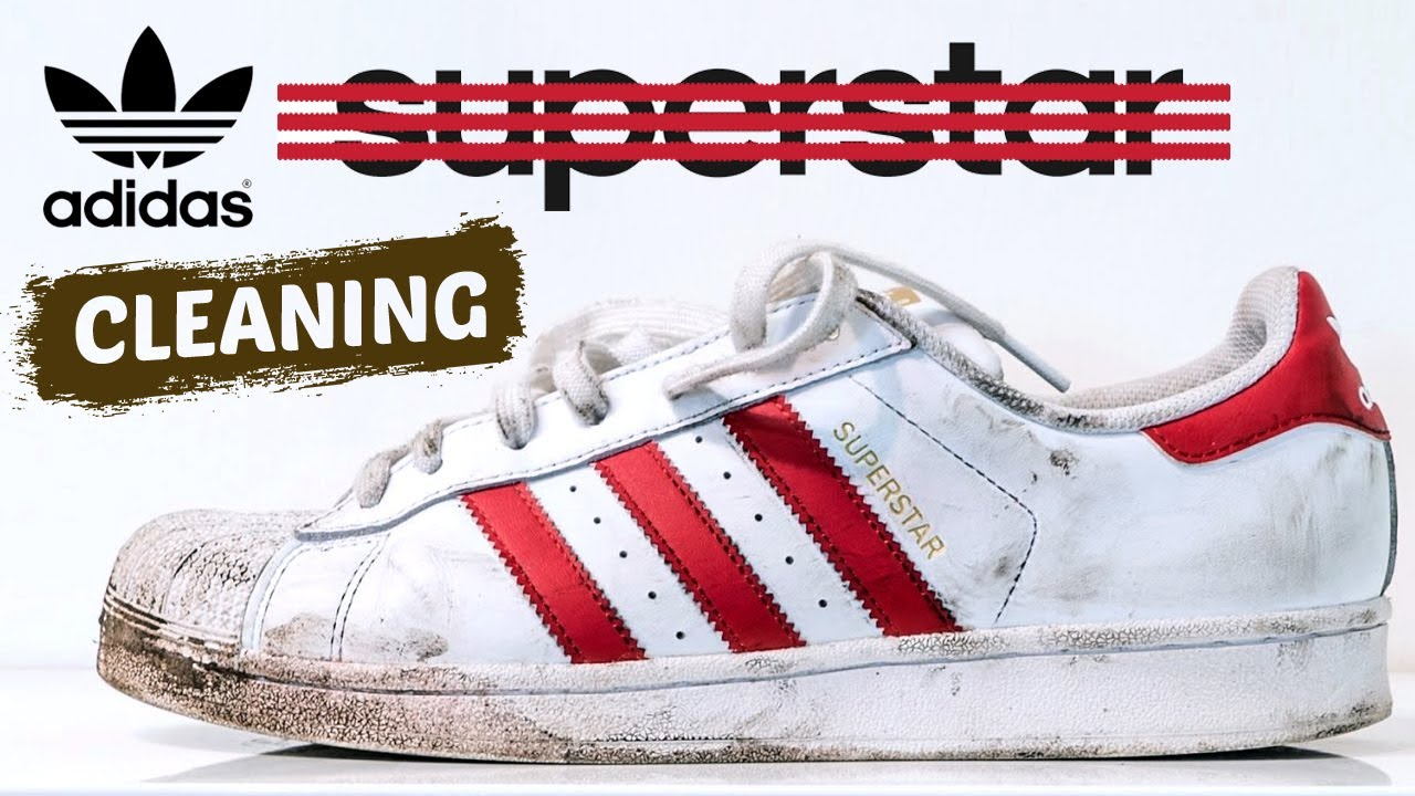The best way to clean Adidas Superstars. - YouTube 3fc4c0422