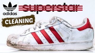 The best way to clean Adidas Superstars.