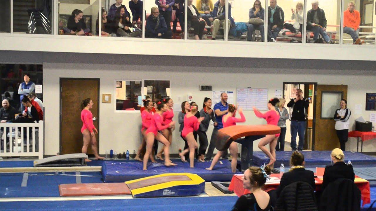 uic gymnastics meet 2016