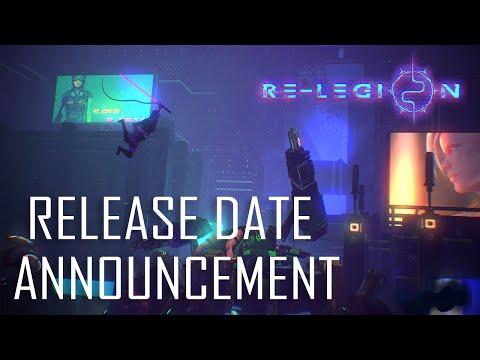 Киберпанк-стратегия Re-Legion получила дату выпуска, и это на следующей неделе