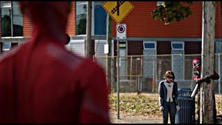 The Flash 5×05 Nora helps Barry