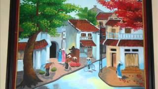 Tranh sơn dầu của Nguyễn Thị Mai Hương.wmv