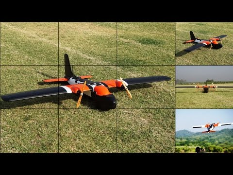 MTD UAV with Sony Rx100M2 for Aerial Mapping & Survey