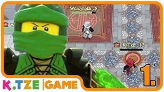 Lego Ninjago Turnier der Tapferen 🥊 Deutsch - Spiele online auf Toggo | Folge 1.