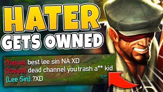 TRASH TALKING YASUO GETS DESTROYED!!! HE CALLED ME OUT! FT. RTO - League of Legends