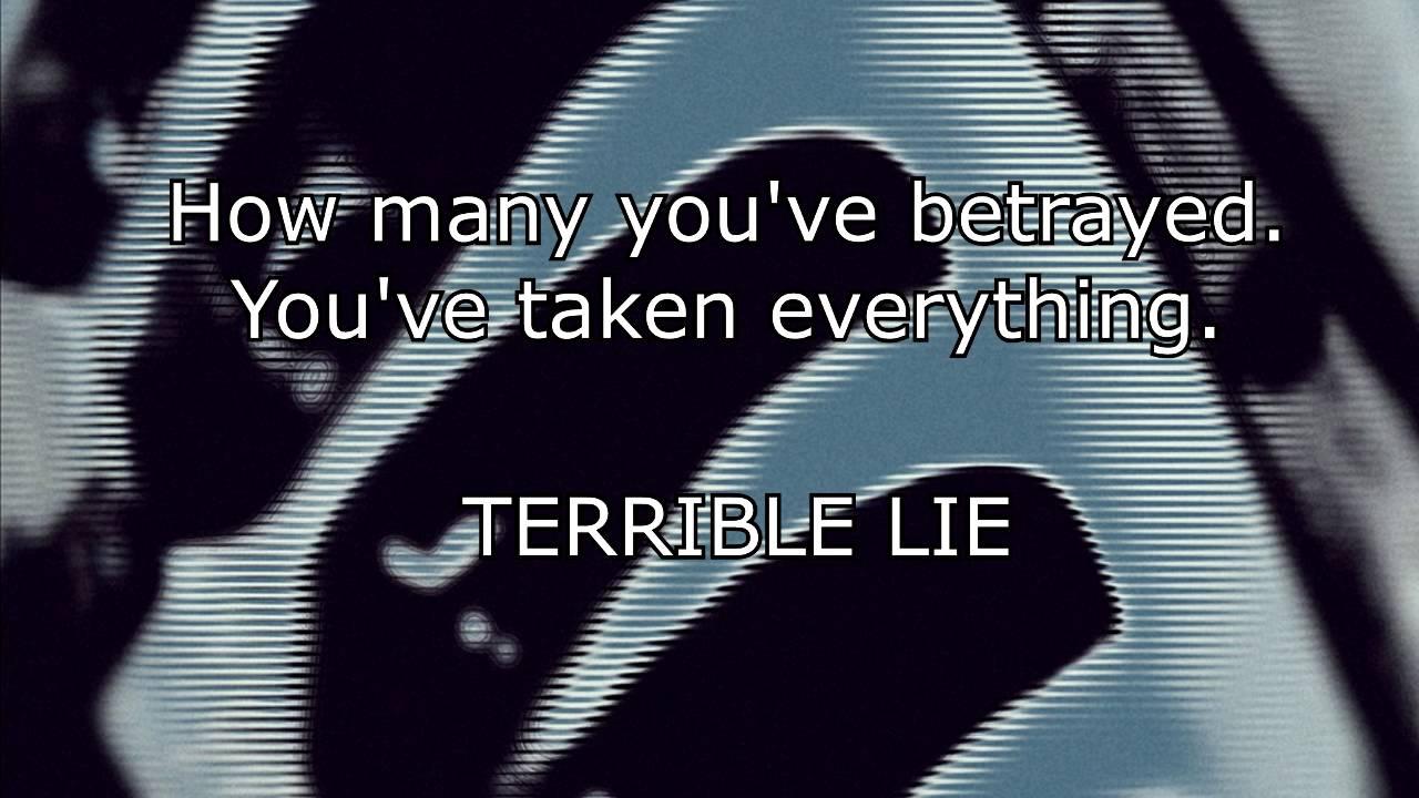 NIN - Terrible Lie (Karaoke) - YouTube