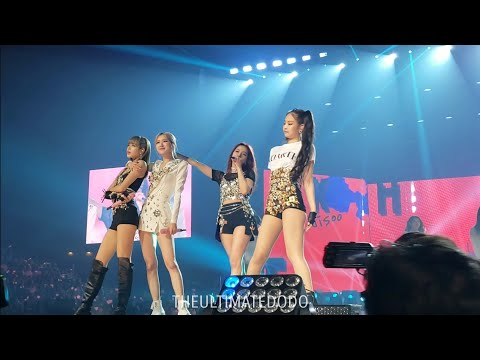 190508 Kick It @ Blackpink In Your Area Fort Worth Concert Live Fancam
