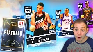 NBA 2K17 My Team NEW DIAMOND KEVIN JOHNSON! NBA PLAYOFFS ARE HEATING UP!