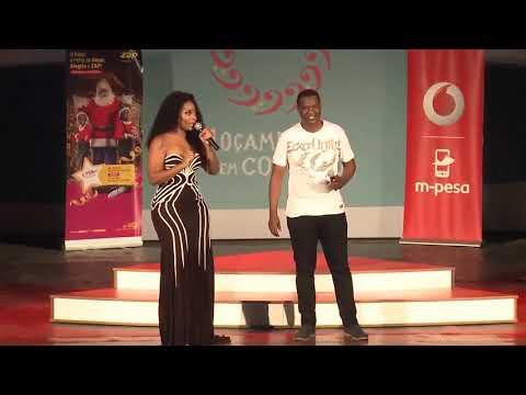 Gabriel Júnior Dança Com A Cantora Angolana Neide Sofia