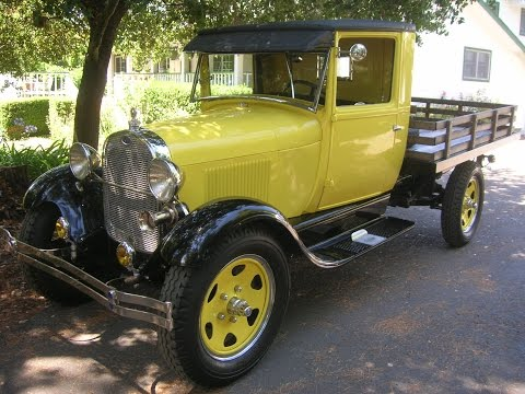1928 Ford Model AA Flat Bed A Great Old Henry Ford Truck