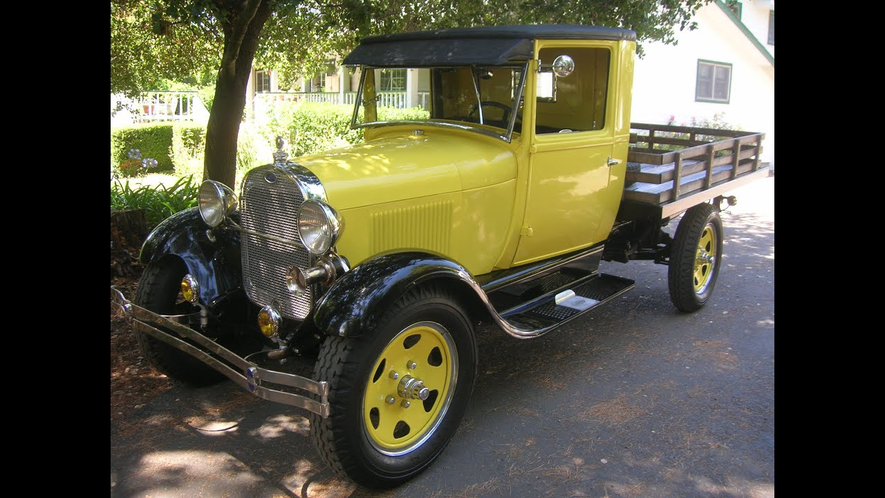 1928 ford model aa flat bed a great old henry ford truck for Model flat pictures