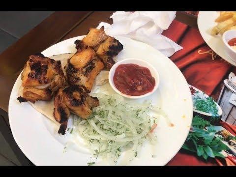 Шашлык из крокодила в ресторане Армения в Нячанге, Вьетнам. Nha Trang, Vietnam, Armenia Restaurant