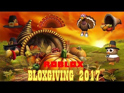 Roblox - Bloxgiving 2017 (Prizes)