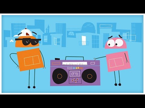 """That's A Rectangle,"" Songs About Shapes by StoryBots"