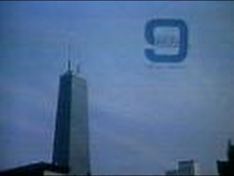 WGN Channel 9 - Five Minutes to Live By, Station Sign-On & Opening of The Westerners (1982)