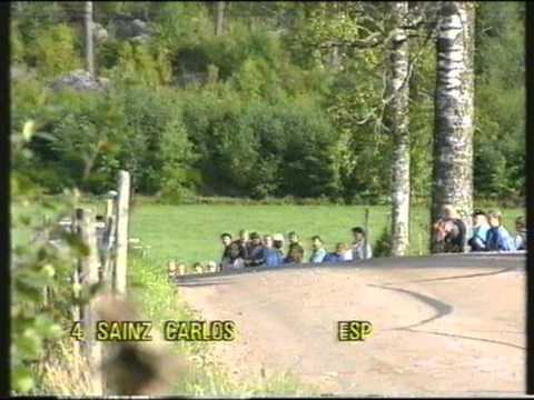 1000 Lakes Rally 1990 - Highlights from Day 3