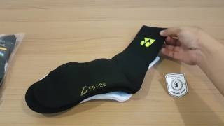 Yonex Badminton Sock 2017 jp.made / พากษ์ไทย