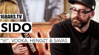 "sido über seinen Vodka, das Verhältnis zu Kool Savas, Hengzt & ""VI"" (16BARS.TV)"