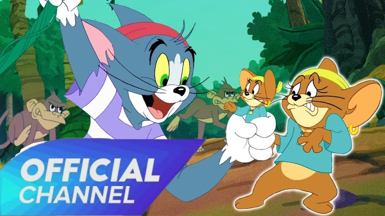 Tom and Jerry Cartoon 2019 | Tom & Jerry | Tom Saves Jerry, the Jungle Style! | WB Kids