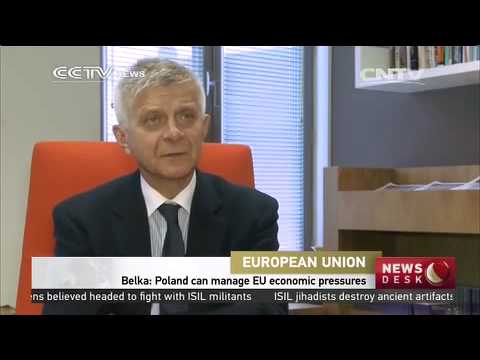CCTV Interviews Polish national bank governor Marek Belka