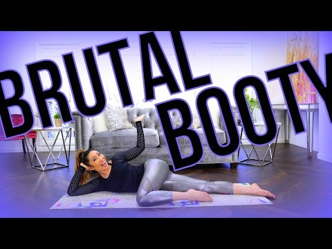 BRUTAL BOOTY! At-Home Pilates Butt Workout!