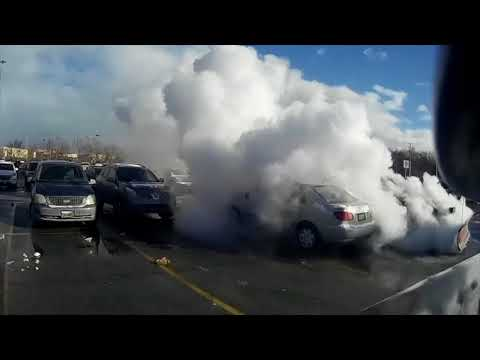 Vehicle Fire on 12.31.17 in Brooklyn, Oh