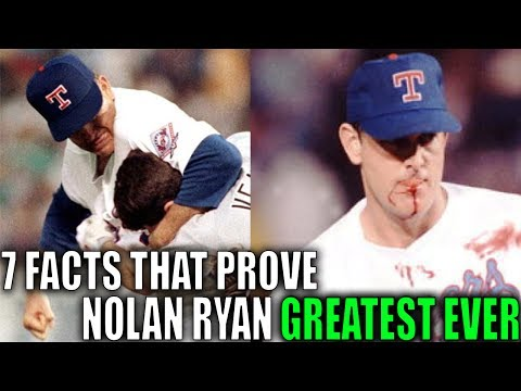 7 Facts That Prove Nolan Ryan WAS THE GREATEST OF ALL-TIME!