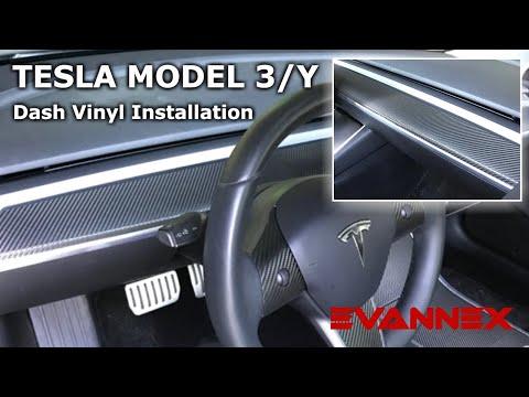 Dash Vinyl Kit For Tesla Model 3—Installation Instructions