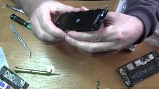 IPhone 5 Almashtirish ko'rsatish ramka/home tugmasi