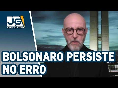 Josias de Souza/Com o general Mourão, Bolsonaro persiste no erro