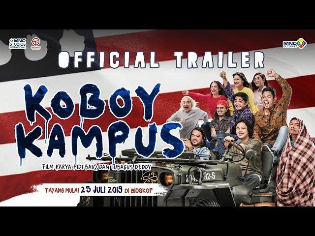 KOBOY KAMPUS  (OFFICIAL TRAILER) | ENAM SEMBILAN PRODUCTION