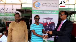 Bank loans tractors to help boost Somalia's agricultural industry