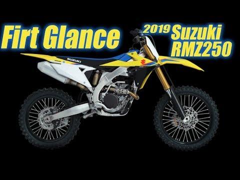 2019 Suzuki RMZ250 First Glance - Motocross Action Magazine
