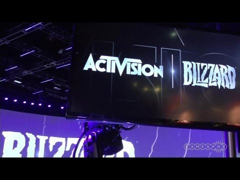 Activision Blizzard Booth - E3 2013 Floor Check In