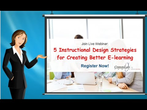 5 Instructional Design Strategies for Creating Better E-learning