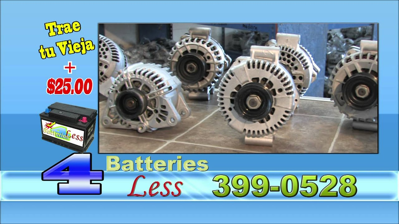 Batteries For Less >> Batteries 4 Less Las Vegas Youtube