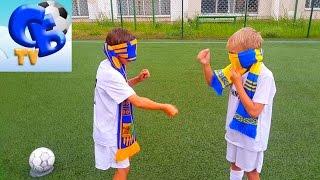 ⚽ ФУТБОЛЬНЫЙ ЧЕЛЛЕНДЖ С ЗАКРЫТЫМИ ГЛАЗАМИ | ⚽ FOOTBALL CHALLENGE WITH CLOSED EYES