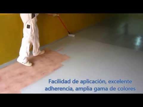 pintura suelos pavipox en garaje particular de sl