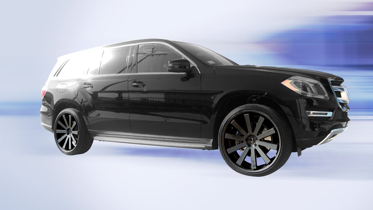 24x10 gianelle santo s22 wheels on 2013 mercedes benz gl for 24 inch mercedes benz rims